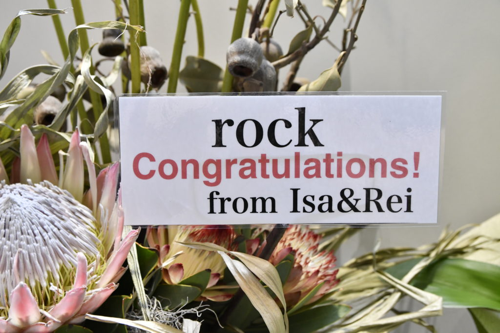 rock Congratulations! from Isa&Rei